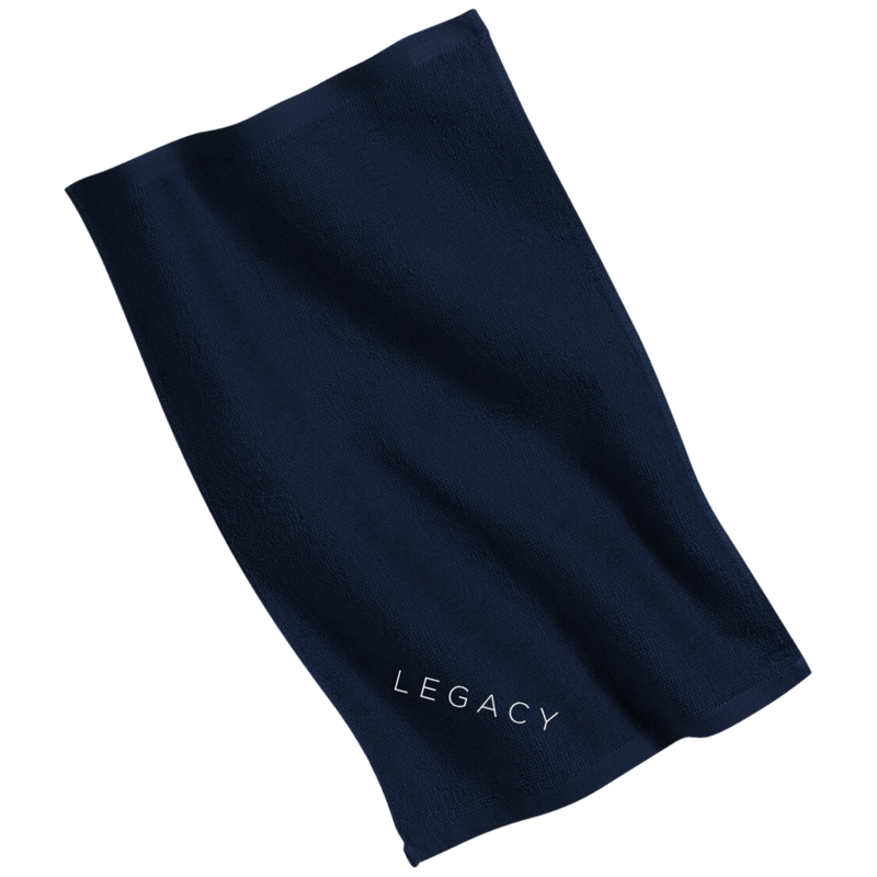 Hustler LEGACY Embroidery Gym Towel