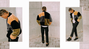The New County Patchwork Bomber