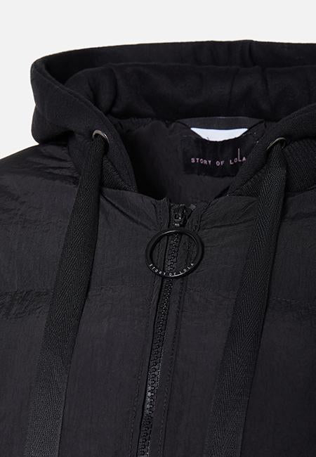 THE KAYLA FULL ZIP PUFFA JACKET - Story Of Lola