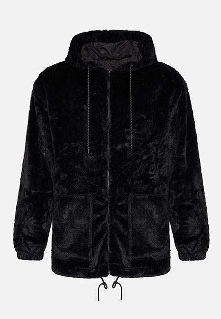 The Benji Black Oversized Hoodie - The New County