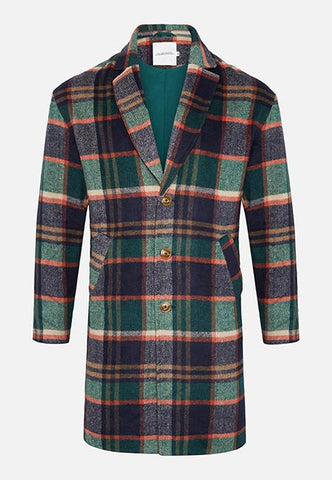 The Burke Tartan Coat - The New County