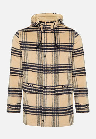 The Brandon Hooded Coat