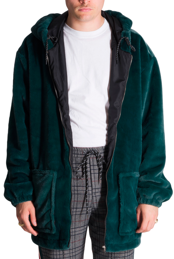 The Benji Green Oversized Hoodie - The New County