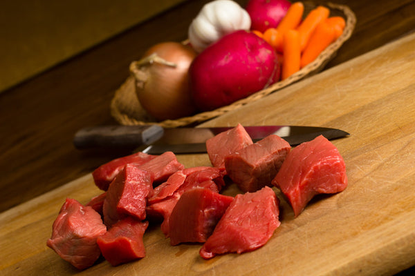 Kabob Cubes made from All Natural Grassfed Beef from NJ