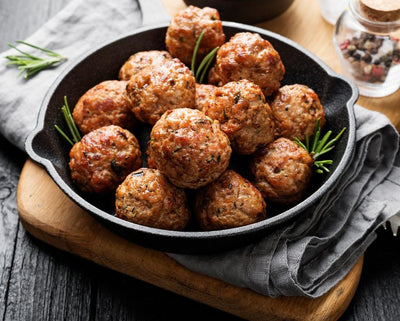 Add NJ Grassfed Beef & Heritage Breed Pork Meatballs to your local meat delivery