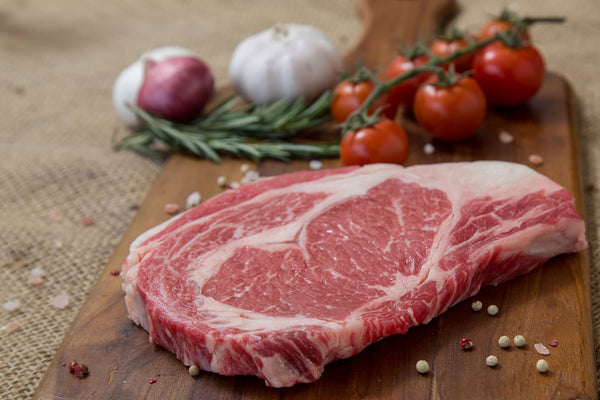Rib Eye Steak All Natural Grassfed Beef from NJ