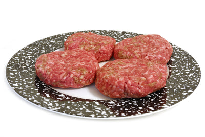 Deluxe Burger Patties made from All Natural Grassfed Beef from NJ