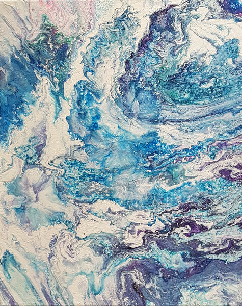 Celestial Waves | 16 x 20 IN