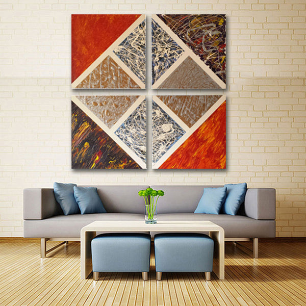Chaos-in-the-sky-by-Alexandra-Romano-Art-Original-abstract-oil-painting-multi-panel-artwork-bold-vibrant-colorful-quadtriptych