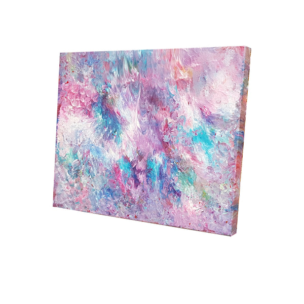 beautiful-spontaneous-abstract-expressionism-acrylic-painting-pink-purple-blue-white-cloudy-sky-painting