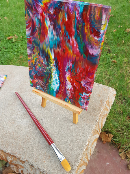 small unique abstract paintings sale stunning holiday gifts beautiful Christmas gift wallart home office decor