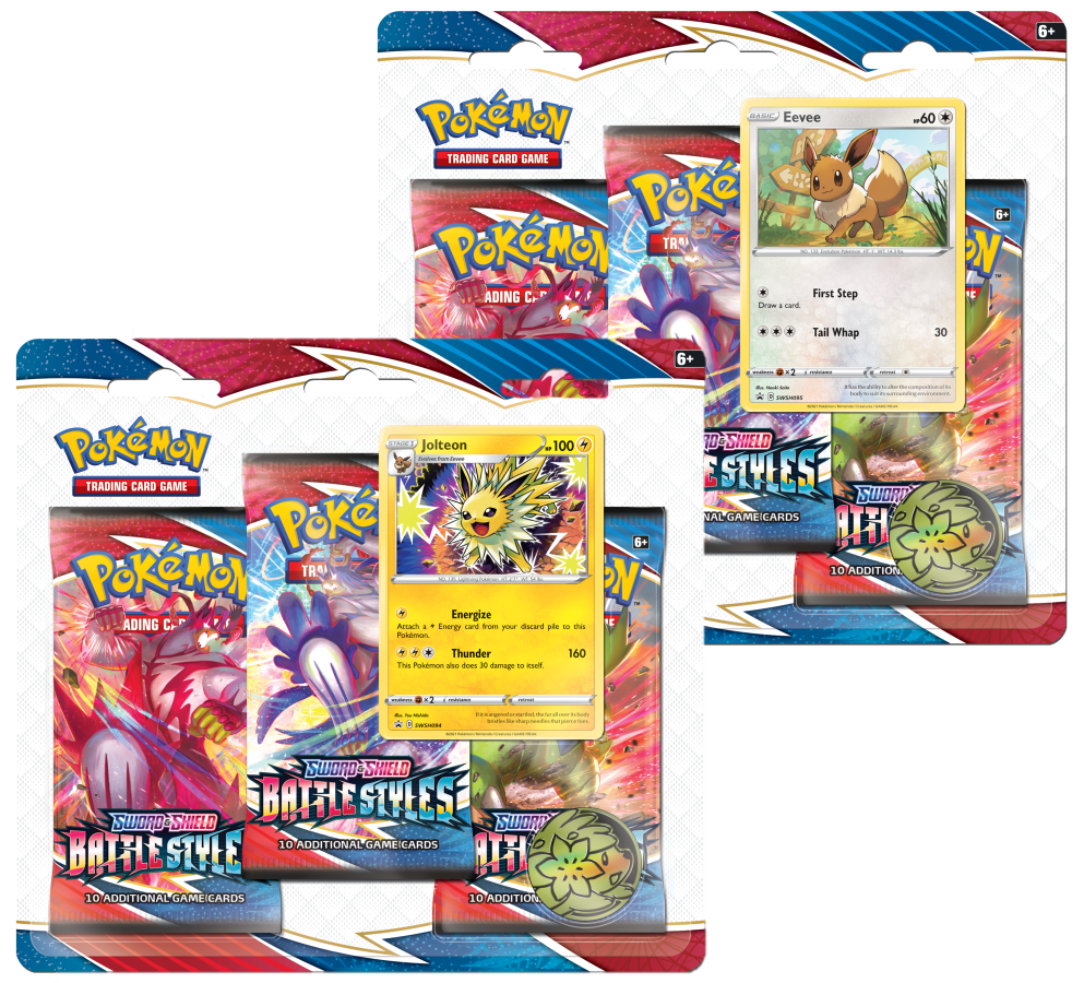 Battle Styles 3-Pack (Triple) Booster Blister