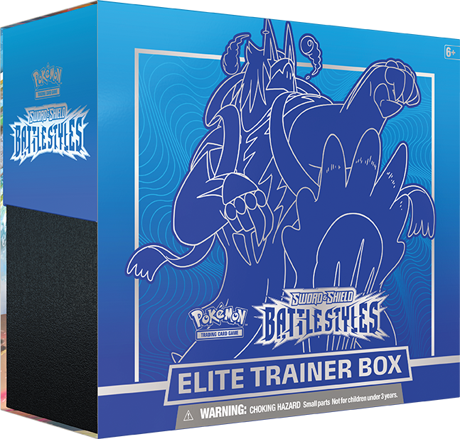 Battle Styles Elite Trainer Box (Rapid Strike - Blue)