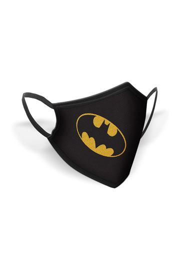Batman Face Mask Logo
