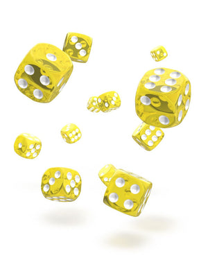 Oakie Doakie Dice 12mm Translucent Yellow 36