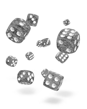 Oakie Doakie Dice D6 12 mm Speckled Black 36