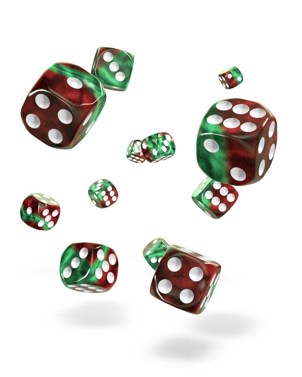 Oakie Doakie Dice 12mm Gemidice Bloody Jungle 36