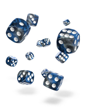 Oakie Doakie Dice 12mm Gemidice Liquid Steel 36