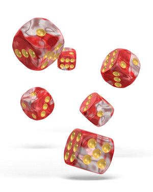 Oakie Doakie Dice 16mm Red Sky 12