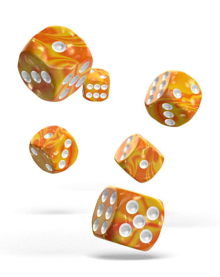 Oakie Doakie Dice 16mm Gemidice Sunstone 12