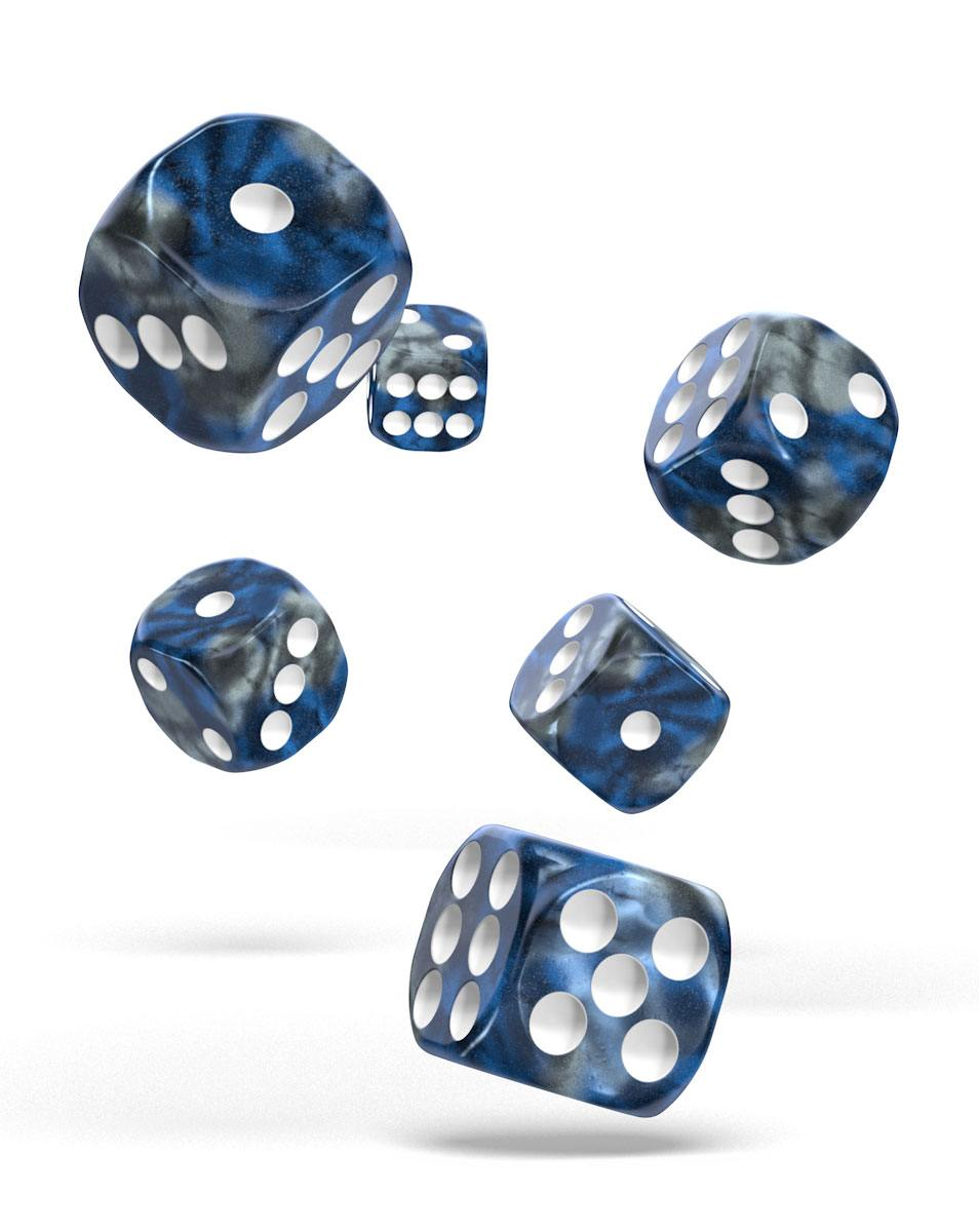 Oakie Doakie Dice 16mm Gemidice Liquid Steel 12
