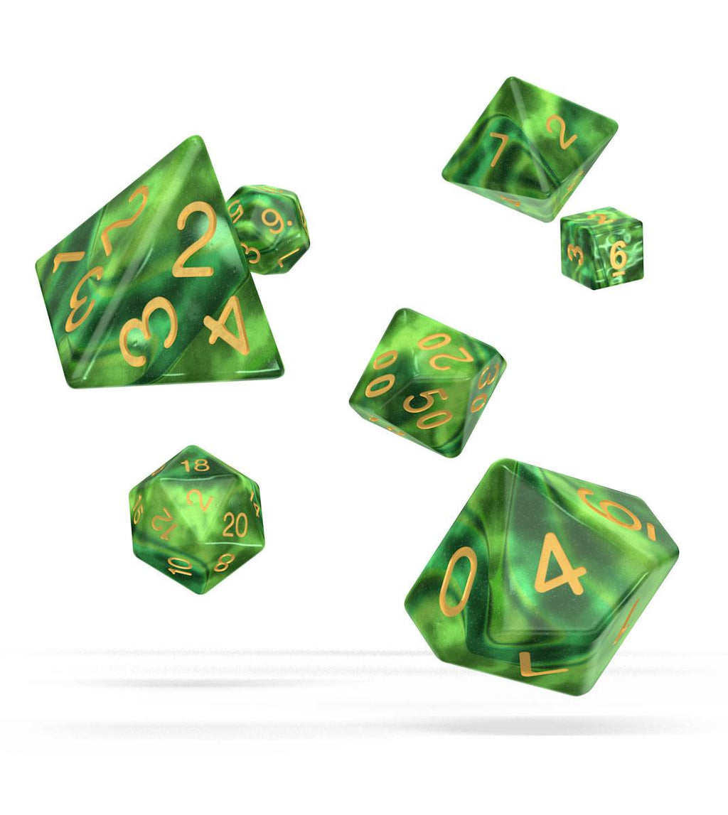 Oakie Doakie Dice RPG Set Gemidice - Jungle (7)