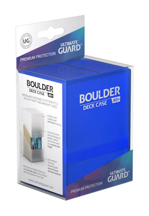 Ultimate Guard Boulder™ Deck Case 80+ Standard Size Sapphire