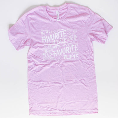 Favorite Place: Florida People Lilac Unisex Crew