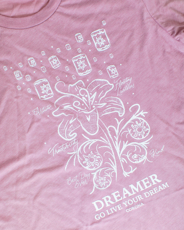 Botanical Princess Unisex Crew, Dream Lily