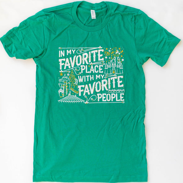 Christmas Favorite People Unisex Crew, Green