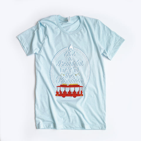 Beautiful Day Unisex Crew, Light Blue