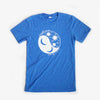 Suns & Moons Unisex Crew, Heather Columbia Blue