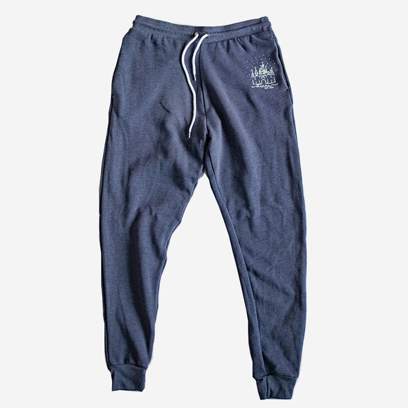 Cozy Dream Unisex Joggers, Heather Navy