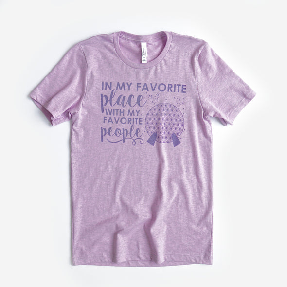 ORIGINAL Favorite Place: Ball People Unisex Crew, Lilac - Festival Limited Edition!