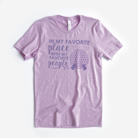 Favorite Place: Ball People Unisex Crew, Lilac - Festival Limited Edition!