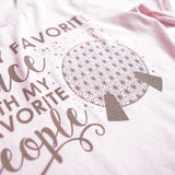 Favorite Place: Ball People Unisex Crew, Pink - Festival Limited Edition!