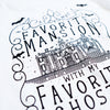 Favorite Mansion Unisex V, White