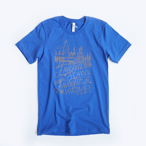Favorite Wizards Unisex Crew, Royal Blue