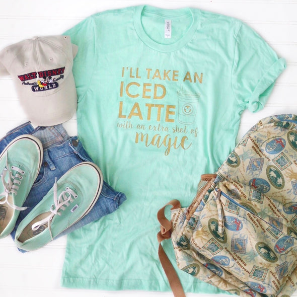 Latte Magic Unisex Crew, Mint