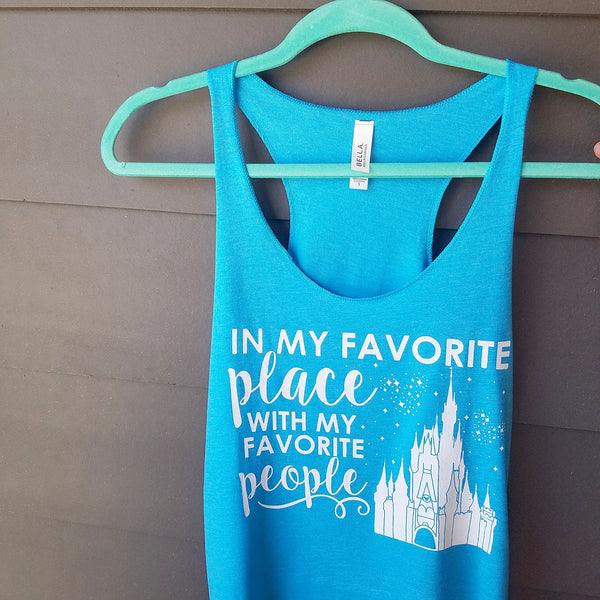 Favorite Place Favorite PEOPLE Ladies Flowy Tank - FLORIDA