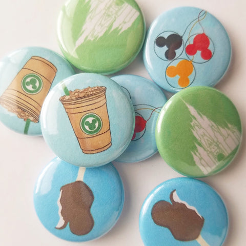 Main Street Essentials Button 4 Pack