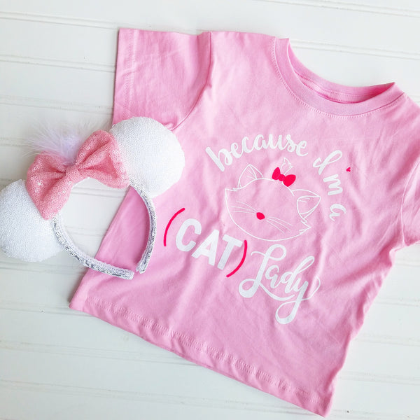 Cat Lady Toddler Tee