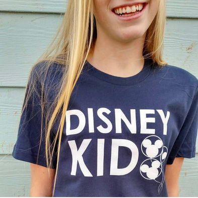 Disney Kid Navy Unisex Crew