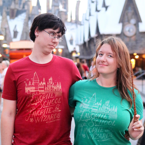 Favorite Wizards Unisex Crew, Green