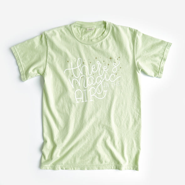 Magic In the Air Unisex Crew, Light Green