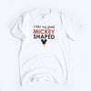 Mickey Food Unisex Crew, White