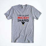 Mickey Food Unisex V, Grey
