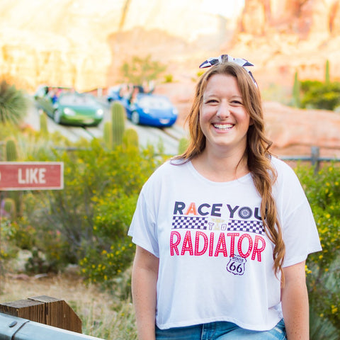 Radiator Racers Flowy Crop