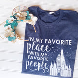 Favorite Place: Florida People Unisex Crew - SPRING COLORS!