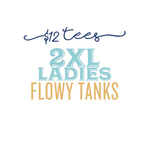 $12 Tees: 2XL Ladies Tank